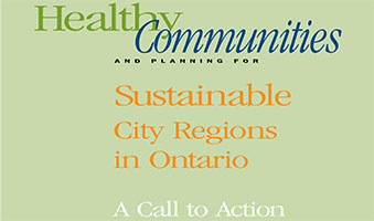 Sustainable City Regions in Ontario - A Call to Action