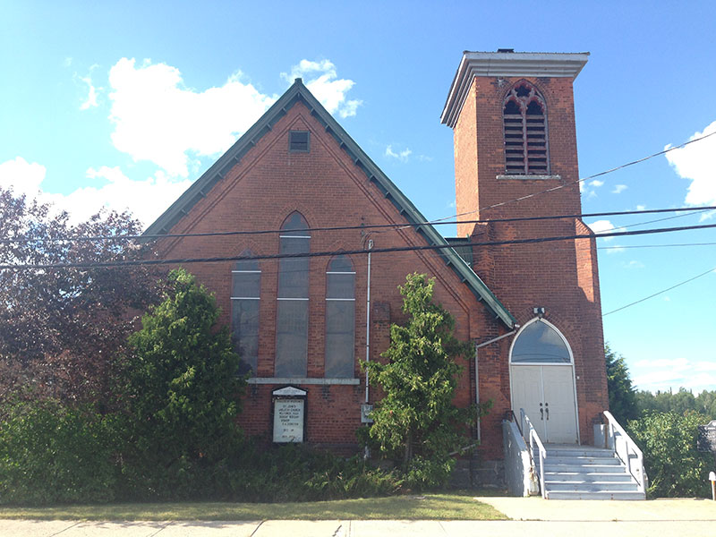 St. John's Anglican Church in Chapleau Ontario